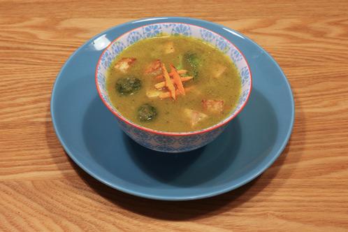 Misosoep met groenten