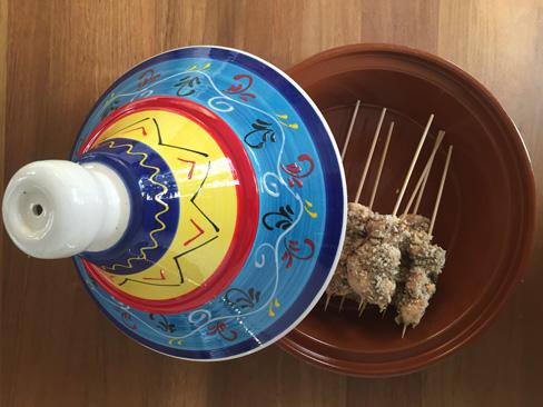 Kip Krokant omhuld met een knapperig noten- en zadenkruim