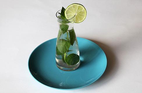 recept voor limoen muntwater