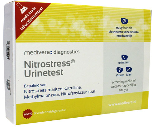 Nitrostress (NO's) urinetest