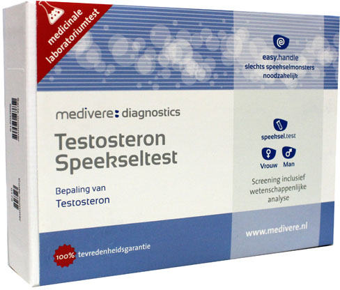 Testosteron speekseltest