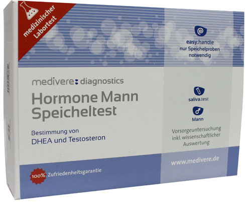 Hormonen Man Basis speekseltest (DHEA, Testosteron)