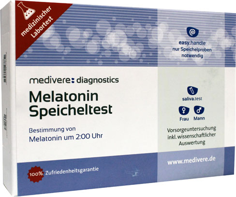 Melatonine speekseltest