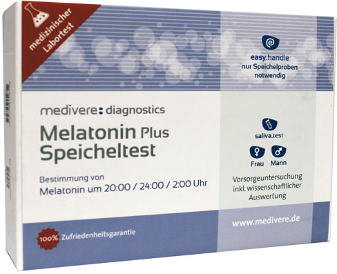 Melatonine Plus speekseltest