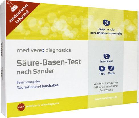 Zuur-base urinetest (volgens Sander)