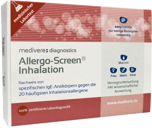 Allergo-Screen Inhalatie bloedtest