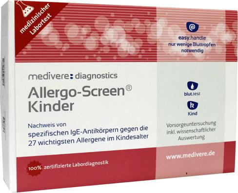 Allergo-Screen kind IgE (27 allergenen bij kinderen) bloedtest