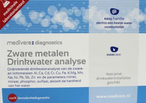 Zware metalen drinkwater analyse