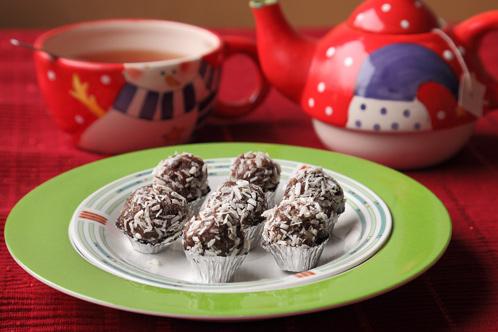 Kerst Nagerecht: Abrikozentruffels (10-12 Stuks)