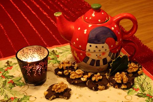 Kruidenthee Met Chocolade-noten-flikken