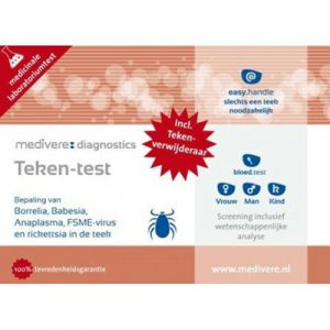 Borrelia + Co-infecties pakket Tickplex® Plus